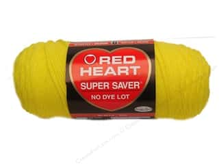 yarn & needlework: Red Heart Super Saver Yarn 364 yd. #0324 Bright Yellow