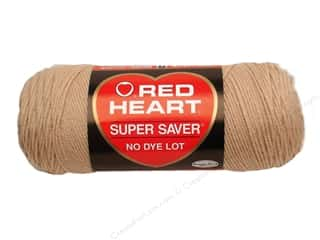 yarn & needlework: Red Heart Super Saver Yarn 364 yd. #0334 Buff