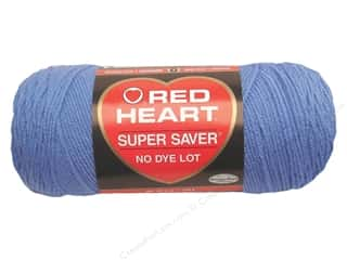 yarn & needlework: Red Heart Super Saver Yarn 364 yd. #0347 Light Periwinkle