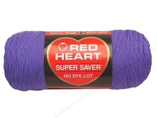 yarn & needlework: Red Heart Super Saver Yarn 364 yd. #0358 Lavender