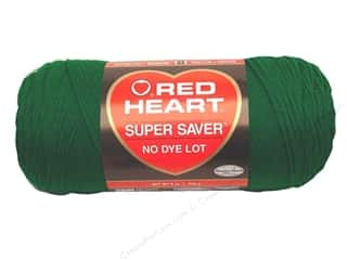 Yarn: Red Heart Super Saver Yarn 364 yd. #0368 Paddy Green