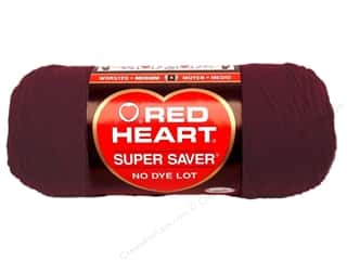 yarn & needlework: Red Heart Super Saver Yarn #0378 Claret 364 yd.