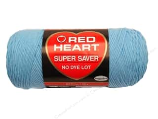 yarn & needlework: Red Heart Super Saver Yarn 364 yd. #0381 Light Blue