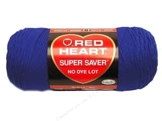 yarn & needlework: Red Heart Super Saver Yarn #0385 Royal 364 yd.