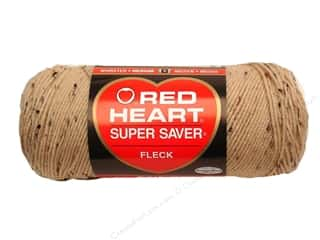 yarn & needlework: Red Heart Super Saver Yarn #4334 Buff Fleck 260 yd.