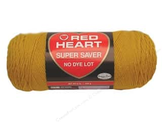 yarn & needlework: Red Heart Super Saver Yarn #0321 Gold 364 yd.