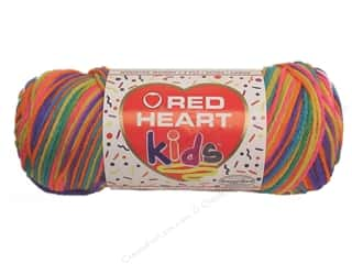 Clearance Red Heart Pomp A Doodle Yarn: Red Heart Kids Yarn #2945 Bikini 232 yd.