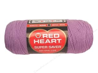 yarn & needlework: Red Heart Super Saver Yarn #0530 Orchid 364 yd.