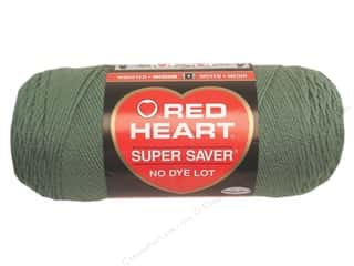yarn & needlework: Red Heart Super Saver Yarn 364 yd. #0631 Light Sage