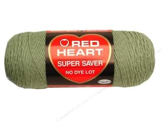yarn: Red Heart Super Saver Yarn 364 yd. #661 Frosty Green