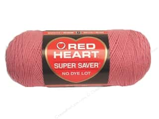 Red Heart Super Saver Yarn #0774 Light Raspberry 364 yd.