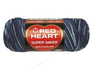 yarn & needlework: Red Heart Super Saver Yarn 236 yd. #0984 Shaded Dusk