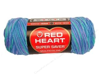 yarn & needlework: Red Heart Super Saver Yarn 236 yd. #0995 Ocean