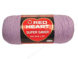 yarn: Red Heart Super Saver Yarn 364 yd. #0579 Pale Plum
