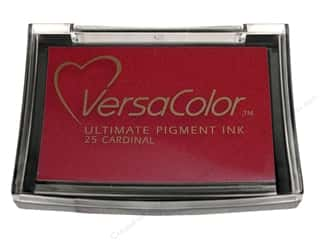 stamp cleaner: Tsukineko VersaColor Large Pigment Ink Stamp Pad Large Cardinal