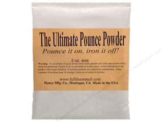 fabric chalk: Hancy Mfg Quilt Pounce Refill Ultimate Iron Off 2 oz