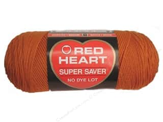 yarn & needlework: Red Heart Super Saver Yarn 364 yd. #0256 Carrot