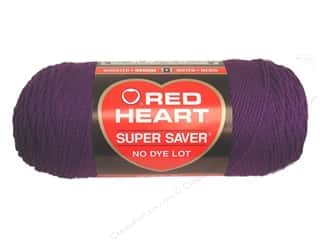 yarn: Red Heart Super Saver Yarn 364 yd. #0776 Dark Orchid