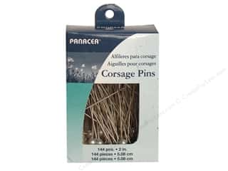Panacea Corsage Pin 2 in. Pearl 144 pc.