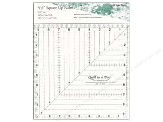 "Weekly Specials Guidelines 4 Quilting Tools: Quilt In A Day Ruler 9.5"" Square Up"