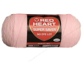 yarn & needlework: Red Heart Super Saver Yarn 364 yd. #0724 Baby Pink