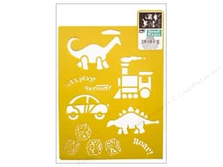 craft & hobbies: Delta Stencil Mania 7 x 10 in. Kid Stuff