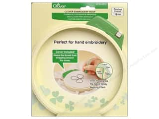 yarn & needlework: Clover Embroidery Hoop - Large 7 in.
