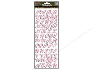 Mothers Day Gift Ideas: Me&My Big Ideas Sticker Bling Alphabet Pink