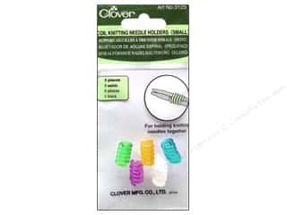 Clover Knitting needle: Clover Coil Knitting Needle Holder - Small 5 pc.