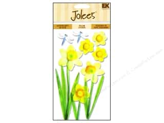 stickers: Jolee's Vellum Stickers Daffodils
