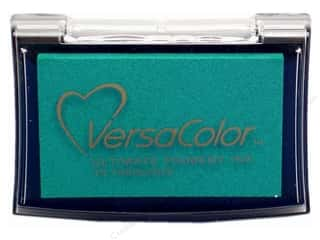 stamp cleaner: Tsukineko VersaColor Large Pigment Ink Stamp Pad Turquoise
