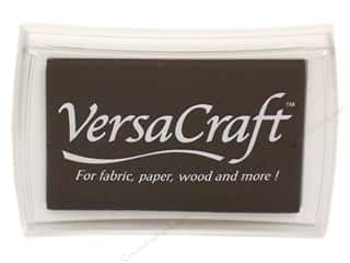 scrapbooking & paper crafts: Tsukineko VersaCraft Large Craft Ink Stamp Pad Real Black