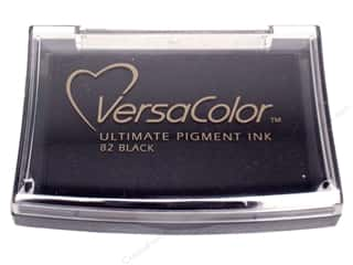 Tsukineko VersaColor Large Pigment Ink Stamp Pad Black