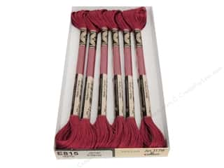 DMC Light Effects Embroidery Floss 8.7 yd. #E815 Jewel Effects Dark Red Ruby