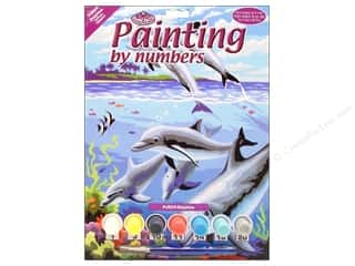 projects & kits: Royal Paint By Number Kit Dolphins