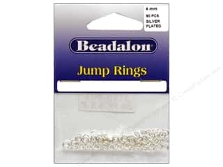 Beadalon Jump Rings 4 mm Silver 80 pc.