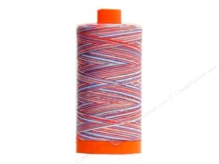 Aurifil Mako Cotton Quilting Thread 50 wt. #3852 Variegated Red/White/Blue 1420 yd.