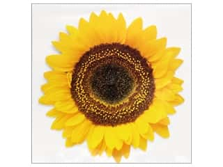 novelties: Paper House Diecut Blank Card Common Sunflower