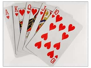 novelties: Paper House Diecut Blank Card Playing Cards