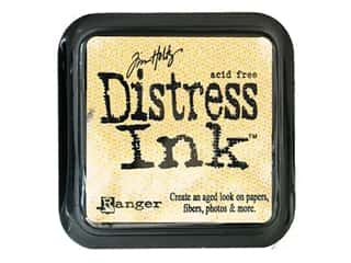 stamps: Tim Holtz Distress Ink Pad by Ranger Scattered Straw