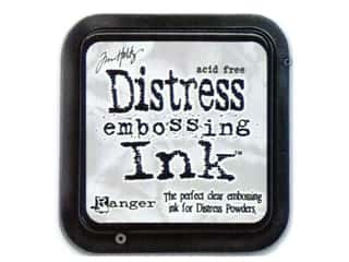 scrapbooking & paper crafts: Ranger Tim Holtz Distress Clear Embossing Ink Pad