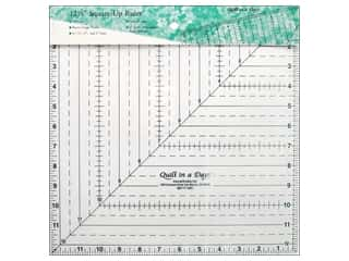 Weekly Specials Guidelines 4 Quilting Tools: Quilt In A Day 12 1/2 in. Square Up Ruler