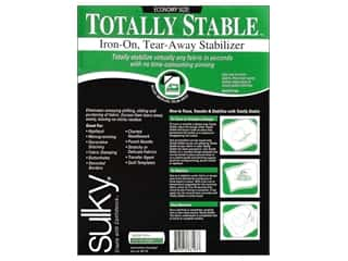 Clearance Novtex Monogram Iron On: Sulky Totally Stable Stabilizer 20 in. x 3 yd. White