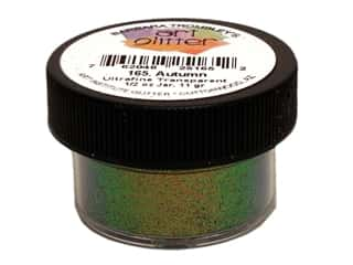 Clearance Art Institute Ultrafine Glitter: Art Institute Glitter Ultrafine 1/2 oz. Transparent Autumn