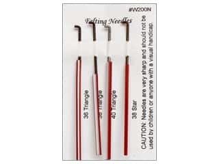 yarn: Wistyria Editions Felting Needles 4 pc. Assorted