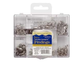 Holiday Gift Ideas Sale Darice ArtLover Kit: Darice Jewelry Designer Findings Starter Kit Silver
