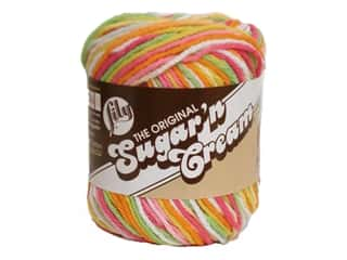 yarn & needlework: Sugar 'n Cream Yarn 95 yd. #2739 Over The Rainbow Ombre
