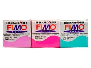 Polymer Clay: Fimo Soft Clay 2 oz, SALE $2.99.