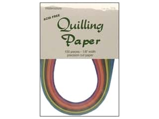Lake City Crafts Quilling Paper 1/8 in. Watercolor 100 pc.