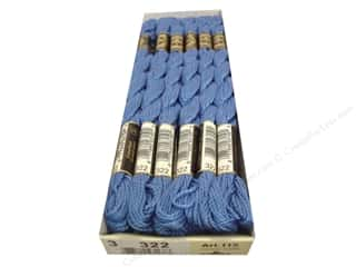 DMC Pearl Cotton Skein Size 3 #322 Dark Baby Blue (12 skeins)